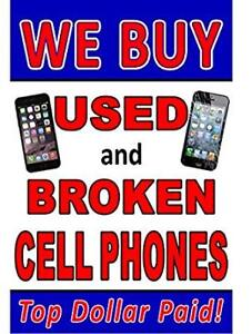 I WILL BUY YOUR DAMAGED & BROKEN IPHONE 5S/ 6 /6S / 6PLUS/ 7/8/X