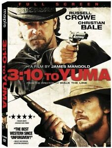 3:10 Tbo Yuma-Full Screen dvd-Christian Bale,Russell Crowe +