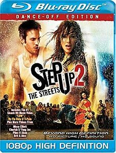 Step Up 2-The Streets-Dance-off Edition Blu-Ray-Like New +