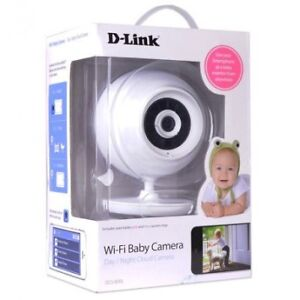D-Link 480p WiFi BabyCam w/2-way Audio Night Vision Android APP