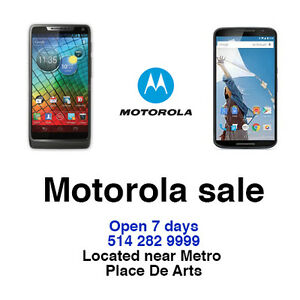 motorola X 2ND-179,E-99,G-125 UNLOCKED WARRANTY