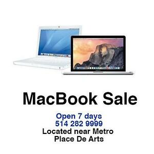 "MacBook Air 13"", MacBook Pro (i5) 13"" & 15""  starting from $600/ 1 month warranty"