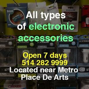 ALL THE ACCESSORIES FOR LAPTOPS,PHONES,XBOX,PLAYSTATION,HOVERBOARDS,TV AVAILABLE HERE & REPAIR IS ALSO DONE HERE