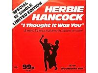 Herbie Hancock ‎– I Thought It Was You / No Means Yes: Electro, Funk / Soul 12'' Vinyl