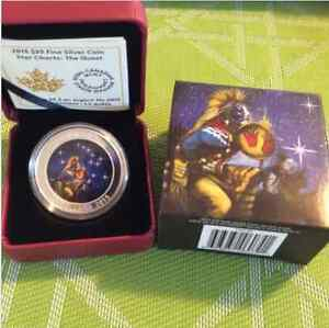 2015 $25 1oz Fine Silver Coin - Star Charts: The Quest