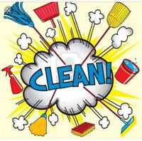 Cleaning services $80 flat rate