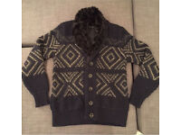 """ZARA"" Men Cardigan , size ""L"" (Like New!!)"