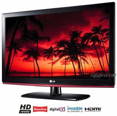 "LG 26"" inch LCD TV HD Ready with Freeview Built in 2 x HDMI + USB not 32 37 40 Will Deliver Locally"