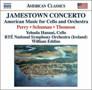 Jamestown Concerto - American Music For Cello And Orchestra Audio CD - $3.99