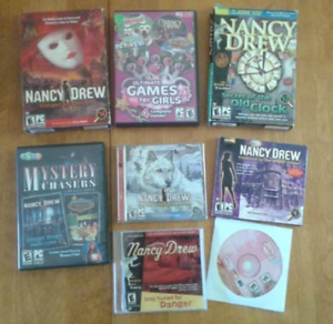 12+ Computer PC Games - Mostly Nancy Drew