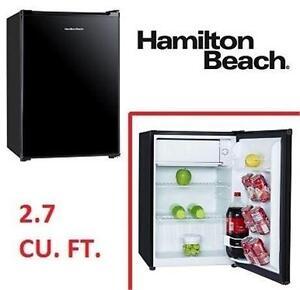 "NEW* HAMILTON BEACH REFRIGERATOR 19"" - 2.7 CU. FT. COMPACT REFRIGERATOR - FRIDGE HOME KITCHEN APPLIANCE 78678571"