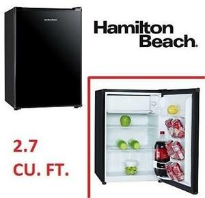 "NEW* HAMILTON BEACH REFRIGERATOR 19"" - 2.7 CU. FT. COMPACT REFRIGERATOR - FRIDGE HOME KITCHEN APPLIANCE 78678571"