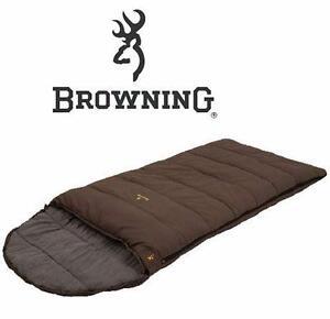 "NEW BROWNING 38""x92"" SLEEPING BAG   KLONDIKE MINUS 30-DEGREES SLEEPING BAG  CAMPING OUTDOORS HIKING  84583935"