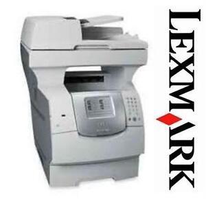 LEXMARK X642E MULTI FUNCTION PRINTER - REFURBISHED