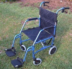 Foldable Wheel Chair Sefton Bankstown Area Preview