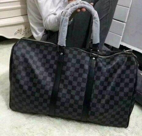 4cff7041a9fd Louis Vuitton LV keep all 45 cm - high quality leather - duffle gym travel  bag