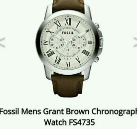 Fossil watch chronograph fs 4735
