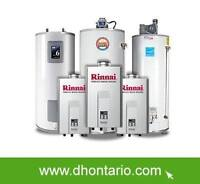 Hot Water Heater Upgrade Tank or Tankless Free Installation