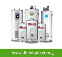 Water Heater FREE Upgrade RENT TO OWN