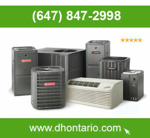 Air Conditioner Furnace Buy -  Rent - Finance CALL TODAY