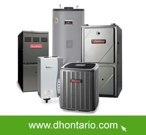 CENTRAL AIR CONDITIONER AND FURNACE RENT TO OWN OPTION