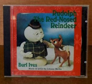 Rudolph the Red-Nosed Reindeer: Christmas CD with Burl Ives.