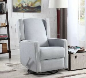Swivel glider recliner chair sale - new in box starting at $299