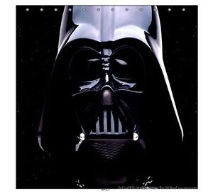 Details about new star wars darth vader shower curtain gift