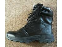 New, hardwearing leather boots