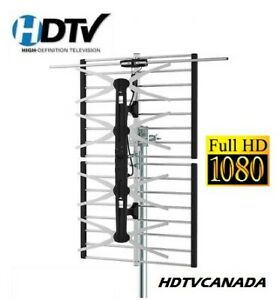 ► OTA Over The Air HDTV HD Antenna ► Service Installation Aiming