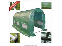 Galvanised Steel Frame Poly tunnel greenhouse