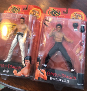 Vintage- Enter the Dragon action Figures