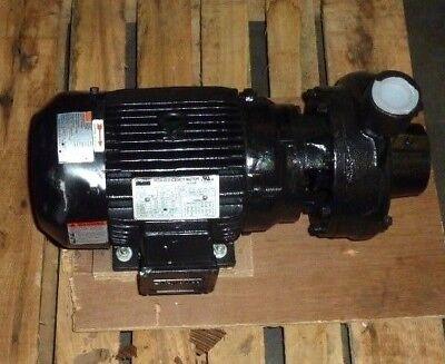 DAYTON Cast Iron 5 HP Straight Center Discharge Pump 208-230v 460V 12A066 NEW