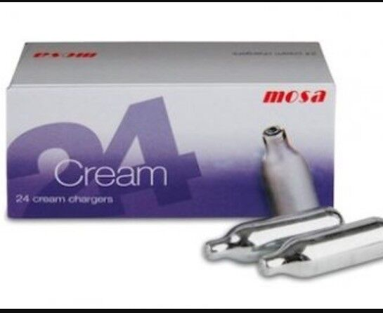 QUICK MOSA CREAM CHARGERS**