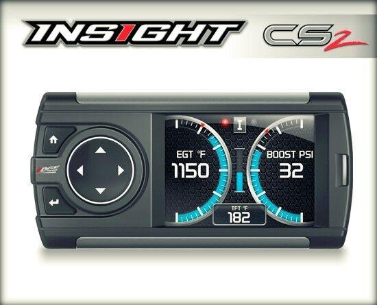 EDGE INSIGHT CS2 GAUGE DISPLAY MONITOR96-UP DODGE TRUCKS - Smarty PoD Controller