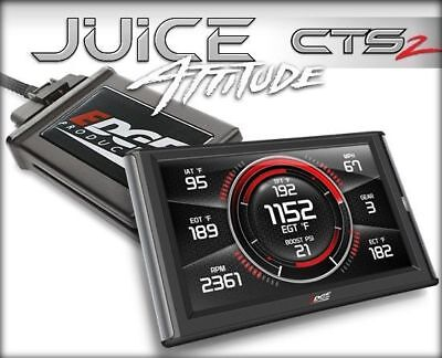 Edge Juice With Attitude CTS2 Monitor 31501 For 01-02 Dodge 5.9L Cummins Diesel Edge Juice Attitude Monitor