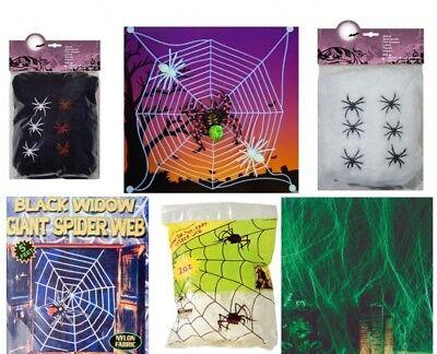 Spinnennetz Spinnengewebe Dekoration Halloween Spinnennetze: untersch.Modelle