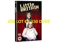 Wholesale / Joblot of 150 Little Britain Live Dvds