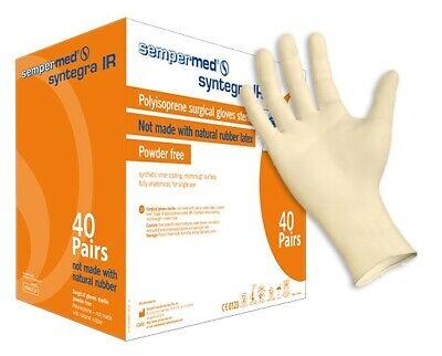 Sempermed Syntegra Ir Polyisoprene Surgical Glove Sterile Size 6 40 Pair Box