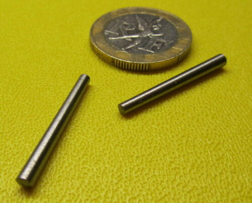 """Steel Taper Pins No. 4/0 .109 Large End x .088 Small End x 1.0"""" Long, 50 Pcs"""
