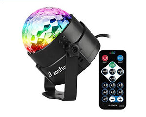 BRAND NEW  Sound Activated Party Lights with Remote Control