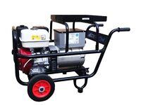 Honda GX390 Prof Generator, 4.0Kva Trolley frame DC Generator, Ideal for Specialist Welder Armagh