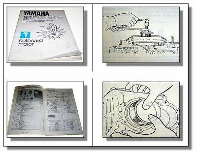 Yamaha Außenborder Bedienungsanleitung Spezialwerkzeuge Special tools Manual gebraucht kaufen  Beuna