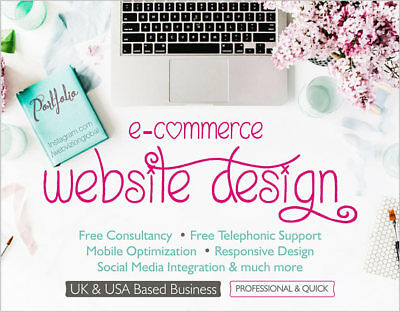 Design Your Custom Website With Responsive Mobile Friendly Web Pages