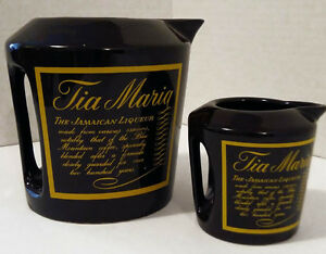VINTAGE-2 pieces TIA-MARIA COLLECTABLE