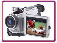 "Sony Handycam DCR-TRV50 MiniDV Digital Camcorder 3.5"" Touchscreen Mini DV Tape Video Camera Recorder"