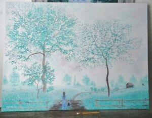 ***ONE of a kind - LARGE ORIGINAL PAINTING