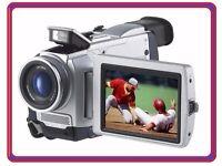 "Sony Handycam DCR-TRV50 MiniDV Digital Camcorder 3.5"" Touchscreen Mini DV Tape Video Camera Recorder"