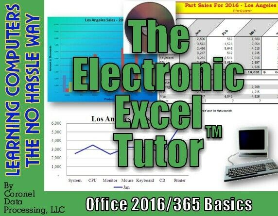 Learn Excel Office 2016/365 Basics Today!