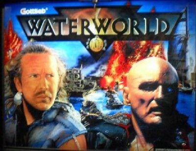 WATERWORLD Complete LED Lighting Kit custom SUPER BRIGHT PINBALL LED KIT